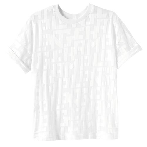 T 恤, 白色 - 查看 1 1 -