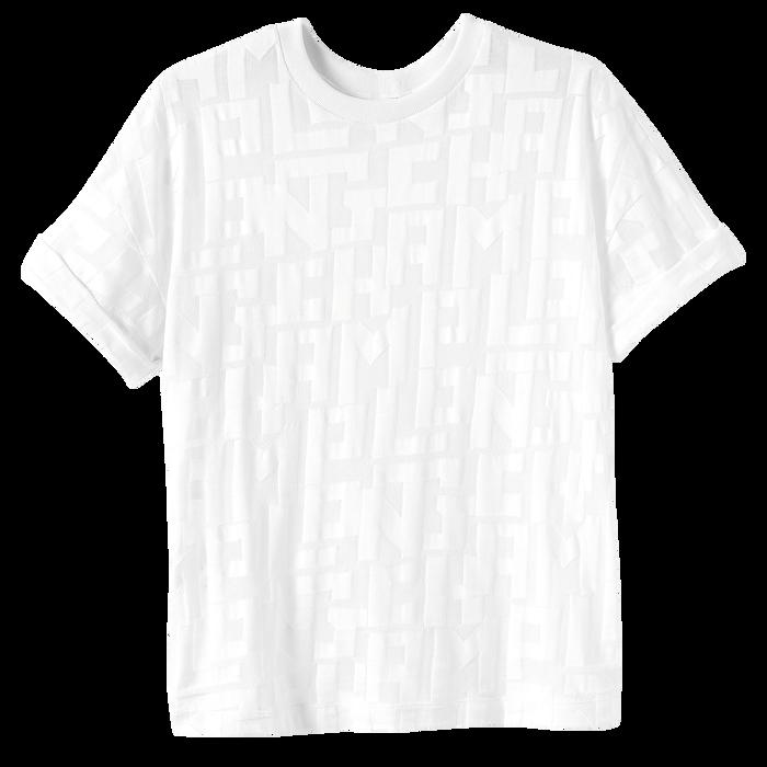 T 恤, 白色 - 查看 1 1 - 放大