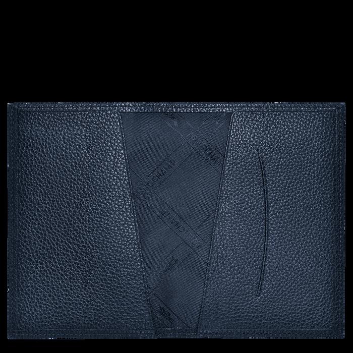 Le Foulonné 系列 护照套, 海军蓝色