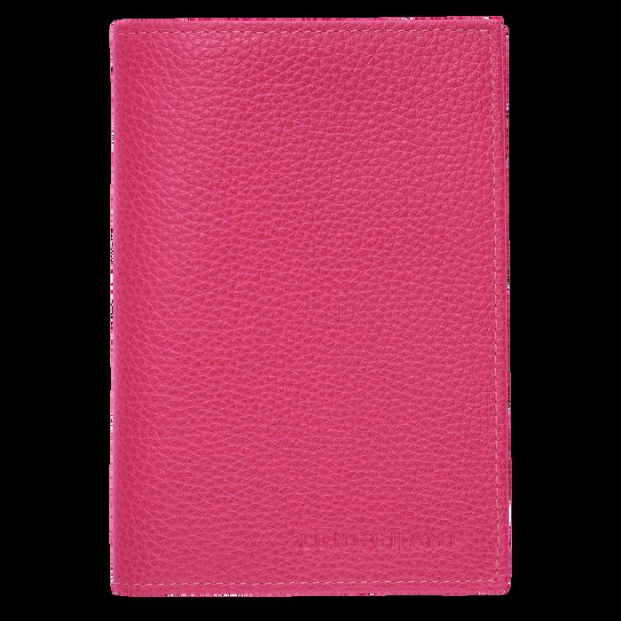 Le Foulonné 系列 护照套, Pink/Silver