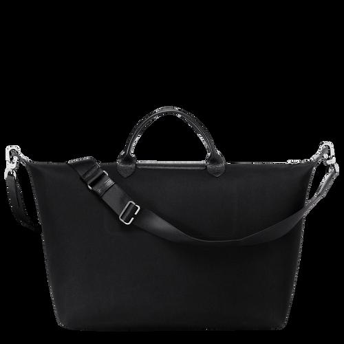 旅行袋 L, 黑/白色, hi-res - 查看3 3