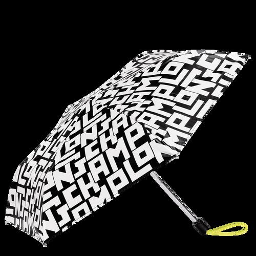 折叠雨伞, 黑/白色 - 查看 1 1 -