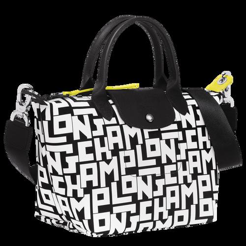 手提包, 黑/白色, hi-res - 查看2 4