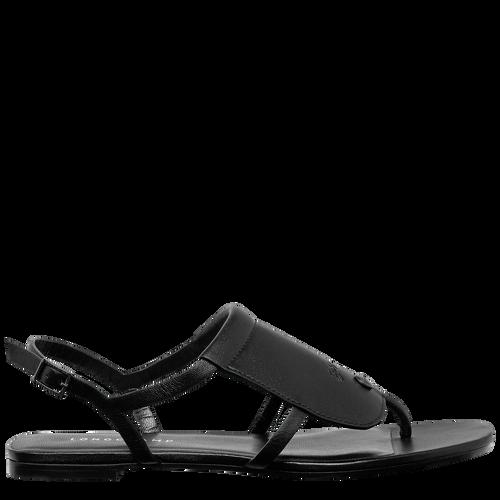 平底凉鞋, 黑色 - 查看 1 3 -