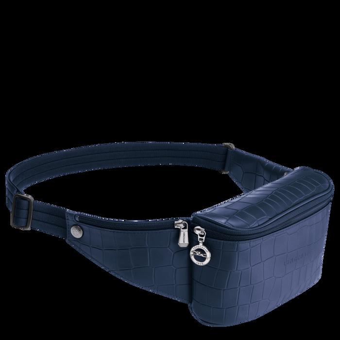 Croco Block 腰包, 海军蓝色