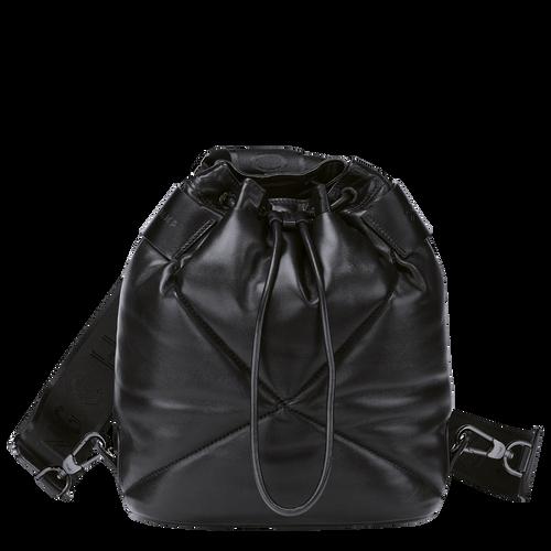 Le Pliage Cuir 水桶包和背包, 黑色
