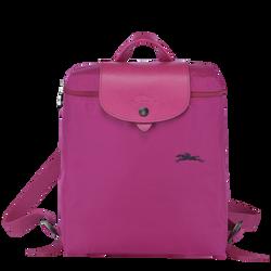 双肩背包, 紫红色