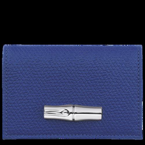 Roseau 紧凑型钱包, 蓝色