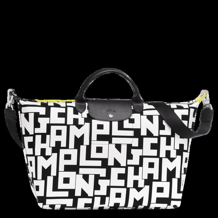 旅行包, 黑/白色, hi-res - 查看1 3
