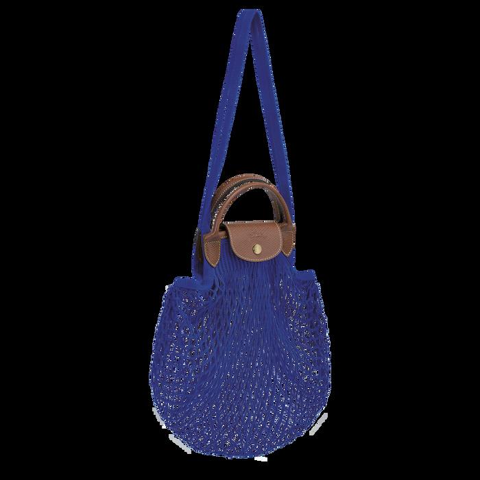 手提包, 蓝色 - 查看 2 3 - 放大