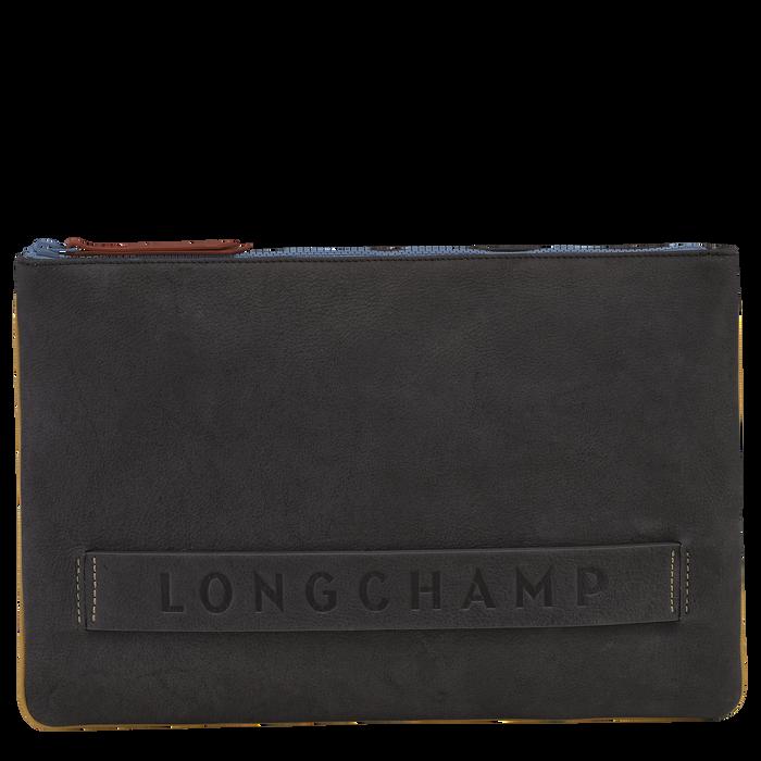 Longchamp 3D 小袋 - 公文包, 金属灰