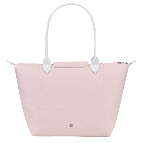 Longchamp x EU 单肩包大号, Pink/Silver