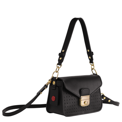 Mademoiselle Longchamp 斜揹袋 XS, 黑色