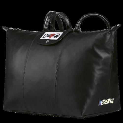 Longchamp x EU 双肩背包, 黑色