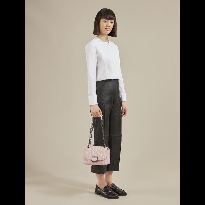 Brioche 斜揹袋 S, 淡粉色