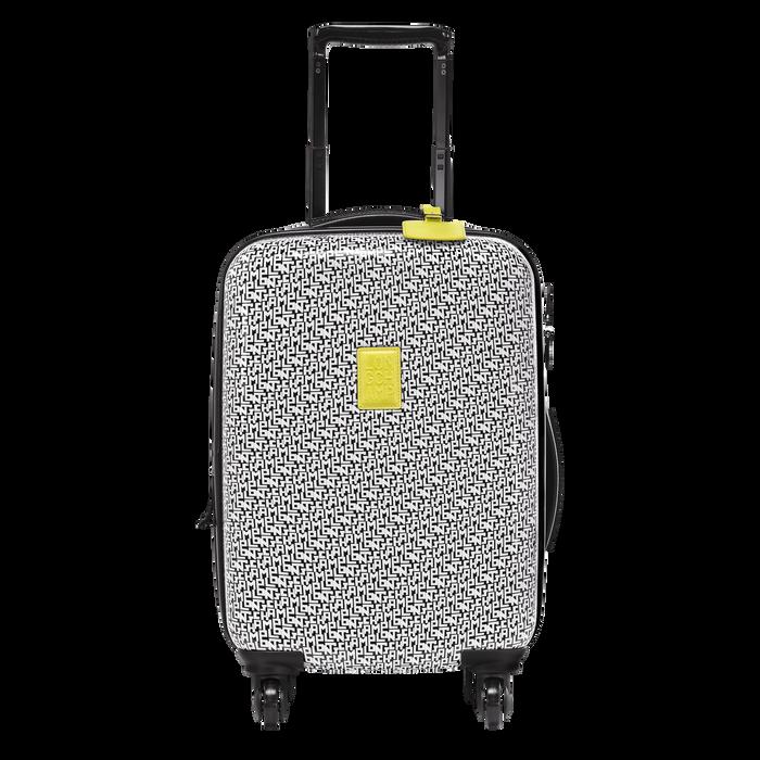 轮式行李袋, 黑/白色, hi-res - 查看1 3