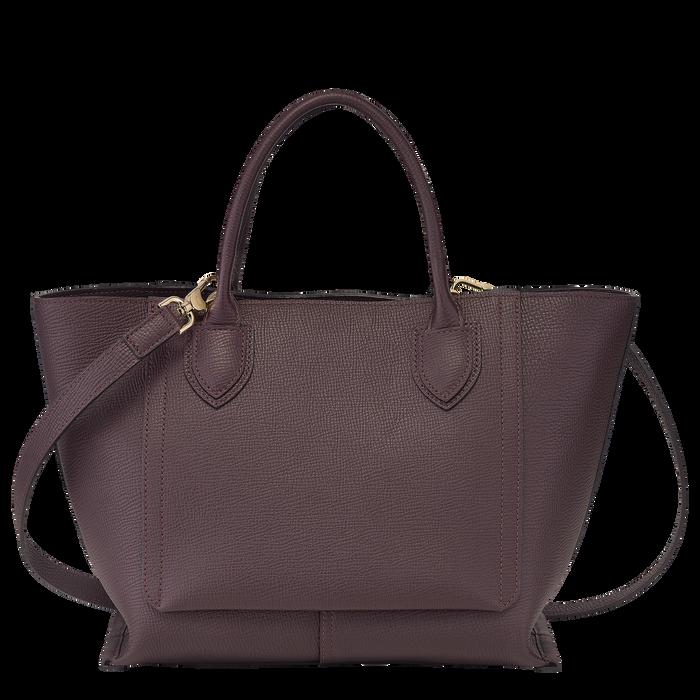 手提包中号, 茄紫色 - 查看 3 4 - 放大
